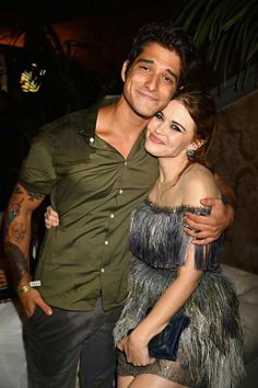 The best pic MTV #teenwolf Holland and Tyler