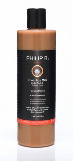 Chocolate Milk Body Wash & Bubble Bath $35.00