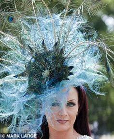 Royal Ascot hat - this is what happens when you don't feed your garden plants right!