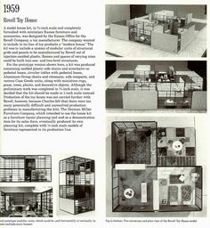 """Found in the book """"Eames Design: the work of the office of Charles and Ray Eames"""" by John Newhart, Marilyn Neuhart and Ray Eames."""