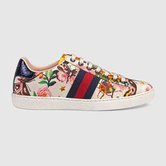 Gucci Women - Gucci Garden exclusive Ace sneaker - 438217K3Q109263