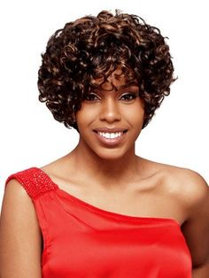 Curly Hair Bob Hairstyles with bangs
