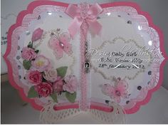 Flowers, Ribbons and Pearls: Book Card Kit