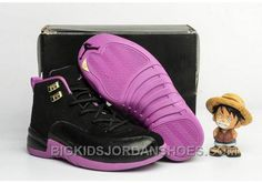 "http://www.bigkidsjordanshoes.com/new-2017-kids-air-jordan-12-hyper-violet-basketball-shoes.html 2017 KIDS AIR JORDAN 12 ""HYPER VIOLET"" BASKETBALL SHOES DISCOUNT Only $85.00 , Free Shipping!"