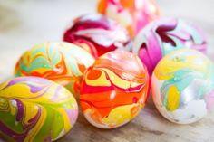 Farebné vajíčka za pár minút
