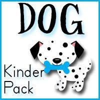 free printable toddler and kindergarten packs