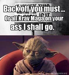 Krav Maga on your ass