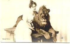 [Woman with Lion]