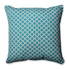 Hockley Teal 25-inch Floor Pillow