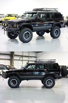 Restored 1999 Jeep Cherokee XJ Classic by Davis AutoSports - ModifiedX Jeep Cherokee Parts, Lifted Jeep Cherokee, Jeep Grand Cherokee Zj, Cherokee Sport, Jeep Xj Mods, Jeep Jeep, Jeep Cars, Jeep Camping, Old Jeep