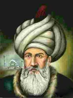 This is a painting of Sinan. He is one of the most important person in the Architecture-Ottoman World. He put up amazing buildings for the public use and visual appearance. His full name was Sinan bin Abdulmennan. Born in 1489 and passed away in 1588. He was the chief court architect of the Ottoman dynasty from 1538 until his death. His works defined the architectural style of the Ottoman Empire in the sixteenth century.