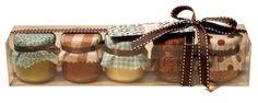 Kit com vários sabores de brigadeiros de colher, de Sucrier Sucré et Chocolat