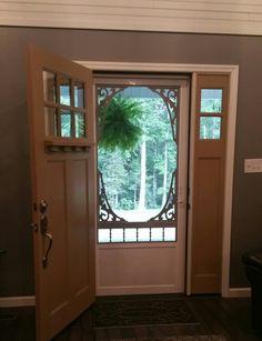 My screen door beauty..