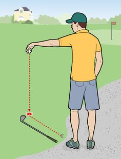 Golf Digest...How to take relief.