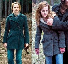 Hermione in the Deathly Hallows Part I