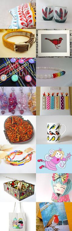 Colourful Creations Take 2 from sewmoira @IHeartScotland Team by Moira Lawrance on Etsy--Pinned with TreasuryPin.com