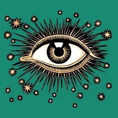 Absinthe Green Starry Eye by Drowssap