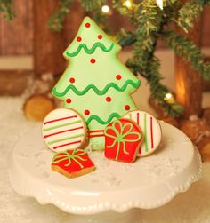 Gift Item | Christmas Tree Cookies. Just right for that special HOME! Send one to yourself and one to a friend, today! SOC ID 72492