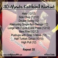 30 minute kettlebell workout.