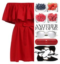 """""""♡ There is a shade of red for every woman ♡"""" by perfectharry ❤ liked on Polyvore featuring LSA International, Yves Saint Laurent and Beats by Dr. Dre"""