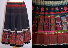 images of slovakia Folk Embroidery, Embroidery Patterns, Folk Costume, Costumes, Embroidered Apron, Ethnic Dress, Antique Clothing, Embroidery Techniques, Vintage Tops