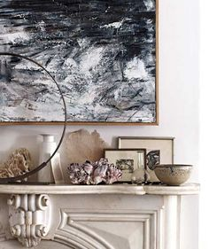 Learn how to create stunning displays on your tables, shelves, and mantels using items you already have. (Real Simple)