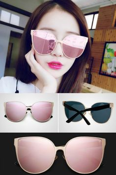 MOL Girl Cat Eye Sunglasses