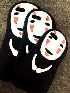 If you love Spirited Away, fans of No Face can outfit their device to resemble…