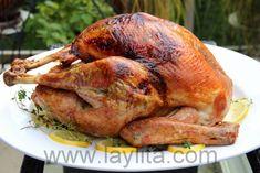 Thyme roasted turkey recipe | Laylita's recipes