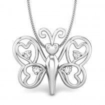 Pari Love Diamond Pendant  To know more details about diamond pendants visit http://www.candere.com/jewellery/womens-heart-diamond-pendants.html