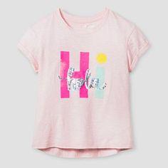 Girls' Graphic Tee Cat & Jack™ - Pink