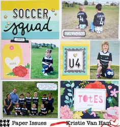 Project Pocket - Back to School by Kristie Van Ham for @paperissuesteam