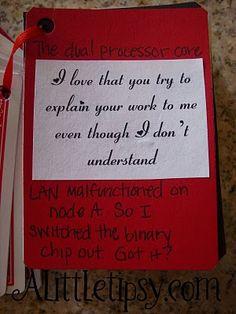 "52 Reasons Why I Love You"" card deck gift"