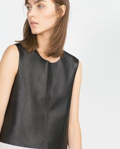 Image 3 of CROPPED TOP from Zara