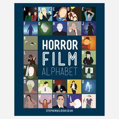 (42) Fab.com | Horror Film Alphabet