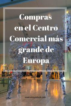 Metrocentre: Ha sido el Centro Comercial más grande de Europa. abierto en la década de 1980.