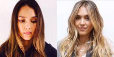 From brunette to blonde. Instagram -Cosmopolitan.com