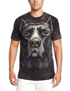 The Mountain Pit Bull Smile Adult Unisex T-Shirt