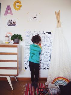 Idee creative per feste e camerette con Posterlounge! Nursery Design, Kids Rooms, Baby Kids, Babies, Home Decor, Babys, Decoration Home, Room Decor, Child Room