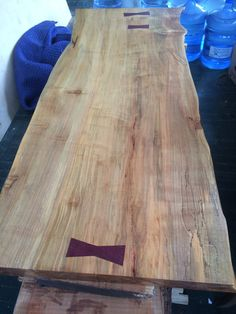 ON SALE Large Spalted Maple Slab with by GreenRiverWoods on Etsy