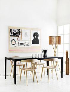 DIY plywood art board by AMM blog, via Flickr //