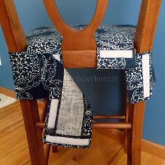 Padded Chair Cover with velcro attachment (tutorial), dining chair slipcover Padded Chair Cover Pat said: I wanted to save this to my own Slipcover board but I don't seem to be allowed to access it on my tablet. I will try to change it on the desktop comp