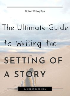 The setting of your story is just as important as your characters and plot. Learn what a novel setting entails, how to research one, nailing your setting descriptions, and more writing tips and tricks! Writing A Novel Tips, Creative Writing Tips, Writing A Book, Writing Process, Writing Workshop, Writing Skills, Fiction And Nonfiction, Fiction Writing, Outlining A Novel