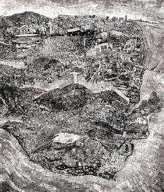 """Sohei Yoshino - """"Diorama Map Rio de Janeiro"""" (March – June 2011)"""