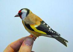 Amazingly Realistic Papercraft Birds Made By Johan Scherft