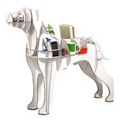 Chuchos: Perros de cartón como muebles de diseño