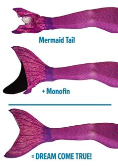 When you're looking for a hot pink mermaid tail, shop Fin Fun's Malibu Pink design from the Mermaidens collection! Pink Mermaid Tail, Mermaid Fin, Mermaid Tails For Kids, Mermaid Tale, Mermaid Monofin, Mermaid Halloween Costumes, Pink Swim, Chloe Presents, Ice Dragon