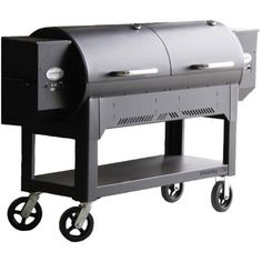 Louisiana Grills Country Smoker Whole Hog Pellet Grill On Cart