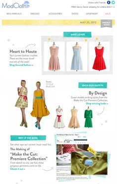 modcloth email marketing