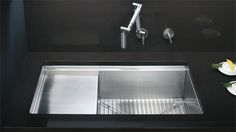 This, or something utilizing this system. $1500 KOHLER | Stages™ | Under-mount Sinks | Kitchen Sinks | Kitchen